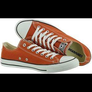 New Converse All Star Low UT Burnt Orange Sz 10